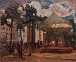 Maurice Paul - Kermis in Brussel