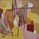 Dolf Breetvelt - Abstracte compositie